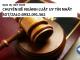 Dịch vụ viết thuê chuyên đề ngành luật uy tín nhất