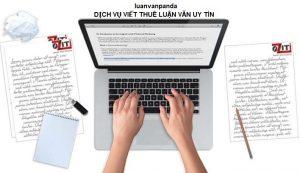 dịch vj viết thuê luận văn tốt nghiệp ngành kế toán